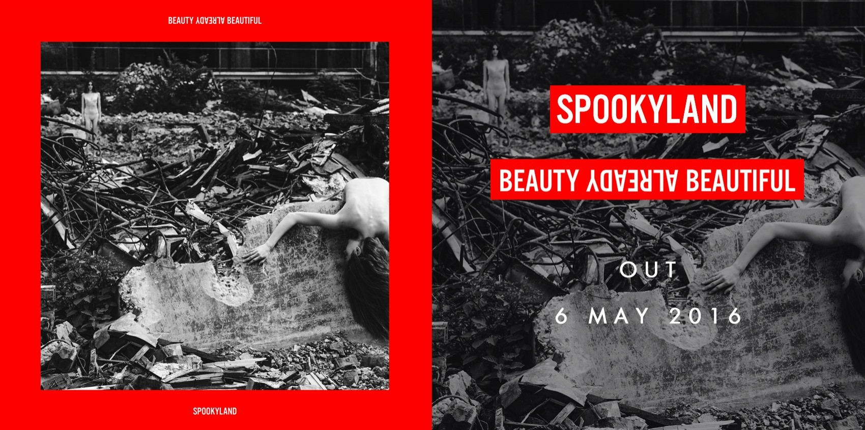 Spookyland \'Beauty Already Beautiful\' Banner