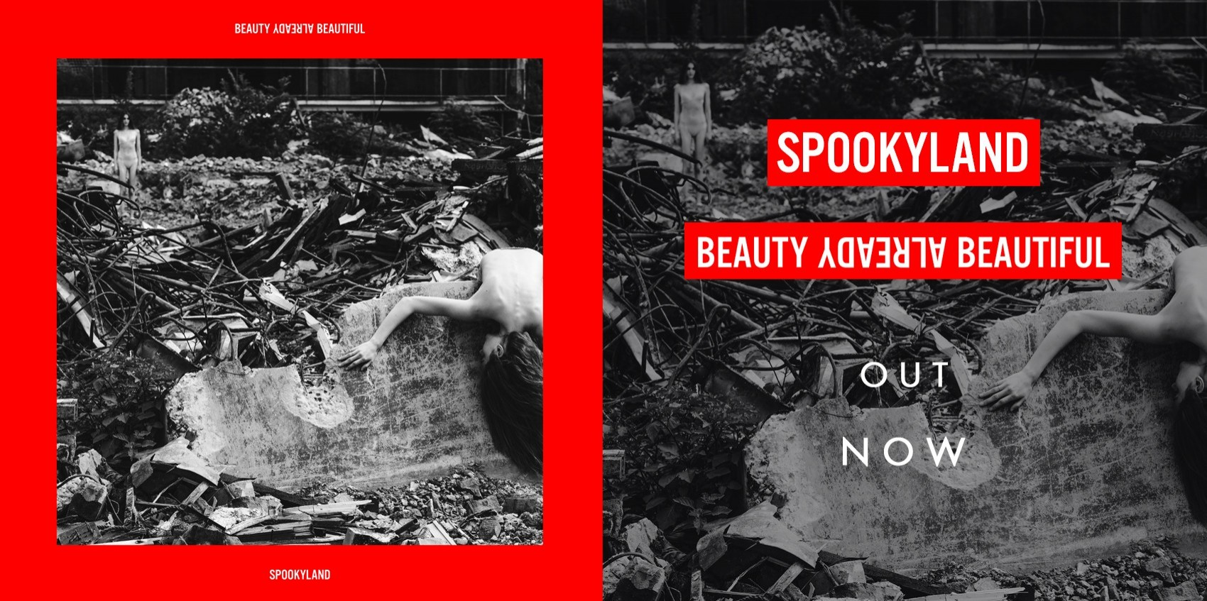 SPOOKYLAND\'S ALBUM \'BEAUTY ALREADY BEAUTIFUL\' IS OUT NOW