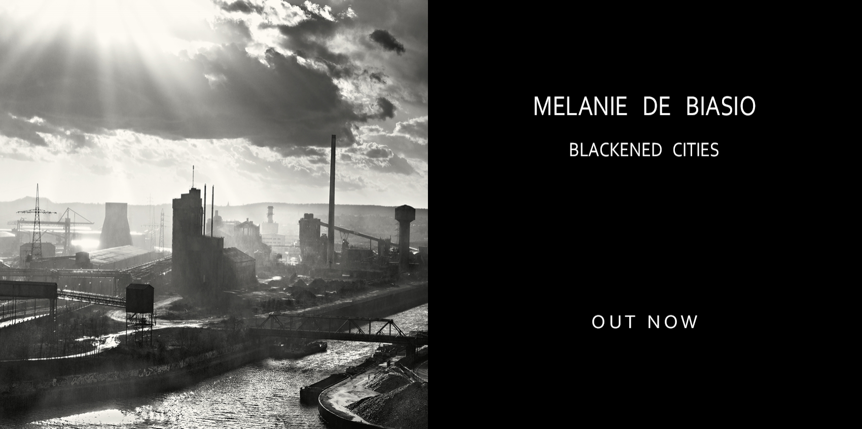 \'BLACKENED CITIES\' BY MELANIE DE BIASIO IS OUT NOW