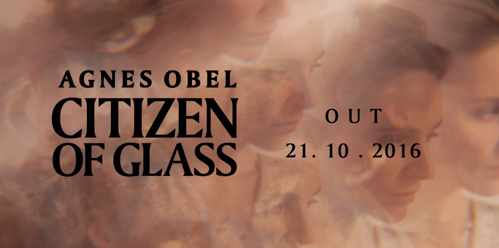 \'Citizen Of Glass\' by Agnes Obel is out 21st October 2016