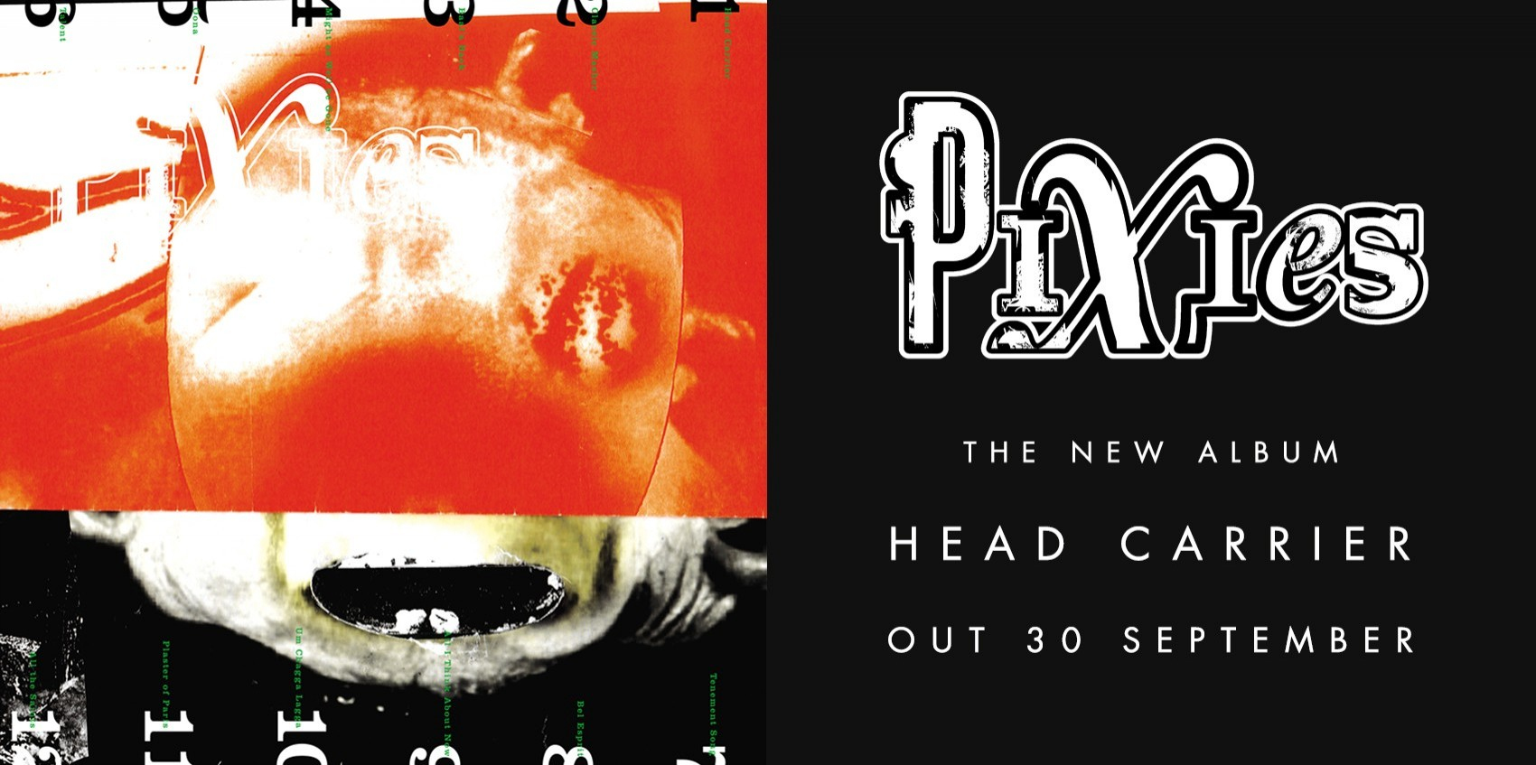 Pixies\' album \'Head Carrier\' is out 30th September